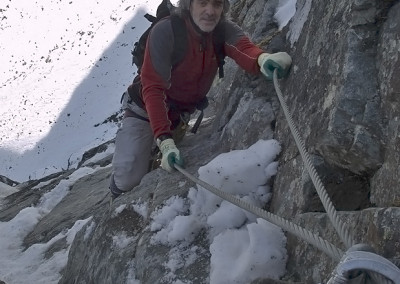 8. Oktober 2005, Kühtaier Panorama Klettersteig