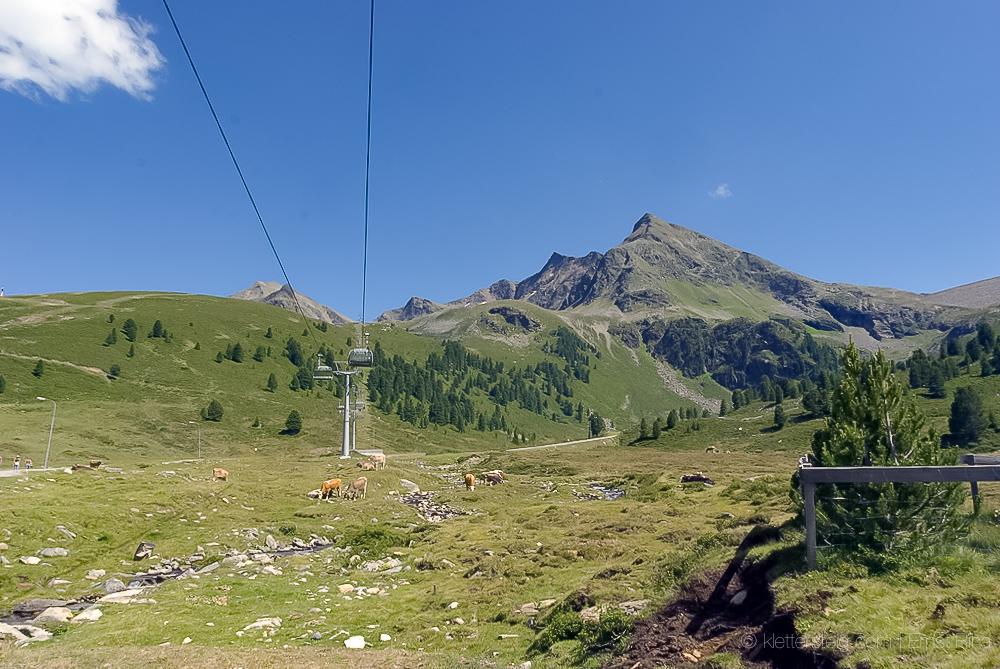 Kühtaier Panorama Klettersteig, Juli 2007
